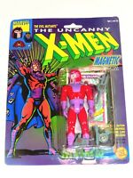 1991 MARVEL UNCANNY X-MEN MAGNETO MAGNETIC TOY BIZ ACTION FIGURE EVIL MUTANTS!