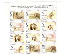 Spagna 2000 Espana 2000 Cavalli andalusi Minifoglio di 2 serie 3290/95 nuovo
