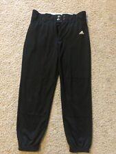 Childs Large Adidas Black Climalite Baseball Pants