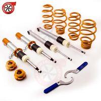 Coilovers for VW VOLKSWAGEN GOLF MK5 MK6 Adjustable Suspension Coilover Struts