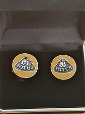 LOTUS CUFFLINKS CHRISTMAS GENTS GIFT PRESENT ELISE CAR NEW free presentation box
