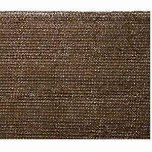 Rete ombreggiante marrone oscurante 95% schermatura 2 x 5 m rotolo tessuto ombra