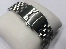 NEW ENGINEER BRACELET FOR SEIKO 20MM DIVERS WITH TAIKONAUT 20MM CLASP