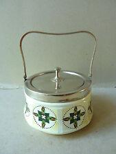 boite à biscuit en céramique Art Deco, GM Czechoslovakia, années 20-30, No 1