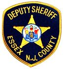 ESSEX COUNTY – DEPUTY – NEW JERSEY NJ Sheriff Police Patch STATE SEAL HORSE ~