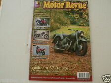 MOTOR REVUE 2010-06 POSTER PANTHER M100 & TRIUMPH CAFE,YAMAHA RD500LC,SUNBEAM S7