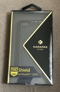 """Karapax By Anker Shield Phone Case Military Grade Black Iphone 4.7"""""""