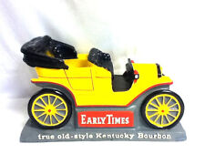 Early Times bar sign Kentucky bourbon whiskey 1908 Model T chalkware chalk car