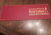JOHNNIE WALKER THICK RUBBER BAR MAT / RUNNER