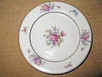 Tirschenreuth bread plate*Queens Rose*butter dish Germany Bavaria Queensrose