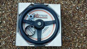 Vintage NOS Spingalex steering wheel & boss Austin MGB Morris Wolseley Riley