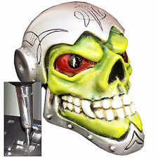 Vorken Skull shift knob w/ chrome adapter for automatic shifters See desc.