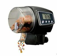 Automatic Fish Feeder Aquariums Accessory Lcd Display Tank Electric Feeding Tool