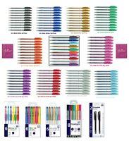 Gel Pens Glitter Scented Sparkled Shine neon Metallic & Pearlised Rubber Grip