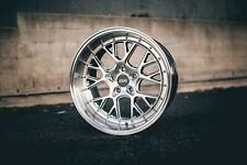 ESR CS11 18x8.5 +30 5x120 Silver BMW E46 E90 E92 F30 F10 328i 330i 335i 535i