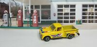 Vintage Yatming No. 1700 CHEVY STEP SIDE PICK-UP TRUCK - Yellow Diecast Truck