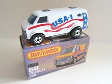 Matchbox Superfast 68c Chevy Van - USA-1 - Mint/Boxed