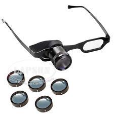2.5x25 Zoom Telescope Glasses Binocular Watch Repair Magnifier Objective Lenses