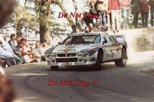 Attilio Bettega MARTINI LANCIA 037 Rally Portogallo RALLY 1984 fotografia 2