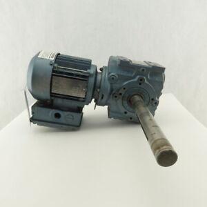 Sew SA47DT71D4-KS 29:1 Ratio 59RPM .5Hp 230/460V Right Angle Gear Reducer