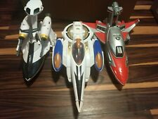Power Rangers Time Force Jet And TF Eagle Vehicle Lot