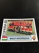 Panini Espana 82 - Magyarorszag