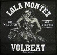 "VOLBEAT PATCH / AUFNÄHER # 1 ""LOLA MONTEZ"" - 10x10cm"