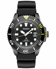 Seiko Prospex SNE441 Kinetic Divers Black Dial Rubber Strap Men's Watch SNE441P1