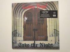 LEATHER NUNN TAKE THE NIGHT LP 1985 RARE FLORIDA POWER METAL REPRESS RED WAX