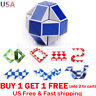 Snake Rubiks Magic Ruler 3D Cube Game Puzzle Educational Toy Party Travel hj1