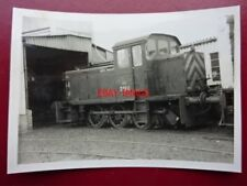 PHOTO  CLASS D2 SHUNTER NO D2511 AT DERBY WORKS 8/66 V2