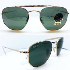 Ray-Ban The Marshal Sunglasses in Gold Green Rb3648 001 54