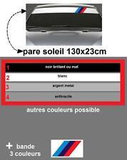 BANDE PARE SOLEIL POUR BMW  MOTORSPORT AUTOCOLLANT STICKER E36 E46 E60 E39 M3 M5