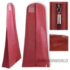 Housse Respirante Rangement Protection Robe de Mariée/Soirée Rouge Hangerworld™