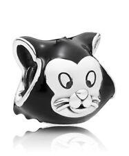 New Authentic Genuine Pandora Silver Disney Figaro Portrait Charm 797488EN16