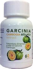 Garcinia cambogia 600 mg 60 capsule. Snellente, dimagrante. Estratto Naturale!