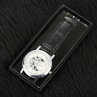 1X Women Men Watch Box Jewelry Gifts Wristwatch Storage Case Organizer Holder