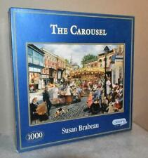 GIBSONS  1000 PIECE JIGSAW PUZZLE  - THE CAROUSEL By Susan Brabeau
