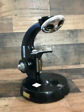 Carl Zeiss - Vintage (1937) - Black Microscope Stand With 4 Position Turret