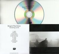 DOG IN THE SNOW Vanishing Lands 2019 UK Bella Union 10-trk promo test CD + PR