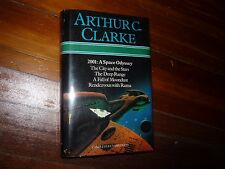 Arthur Clarke: 2001 The City & The Stars, The Deep Range, Fall of Moondust, Rama