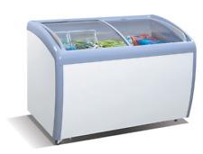 Atosa MMF9109, 9.2 Cu.Ft  39-Inch Ice Cream Freezer, 2 Sliding Glass Arc Doors