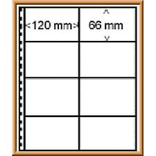 Lindner 030P Omnia Approval Card Page - pack of 10