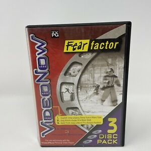 Video Now Fear Factor 3 Disc Pack Hasbro