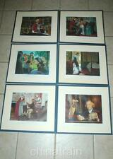 6 Medical History 12x10 Prints Robert Thom Benjamin Rush Laennec Jenner Pinel