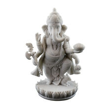"Standing Ganesh Statue (Marble Finish) 7 1/2"" Tall (3379)"