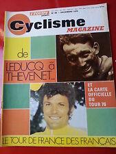 1975 l'équipe cyclisme n°96 DE LEDUCQ A THEVENET PINGEON AIMAR ANQUETIL LAPEDIE