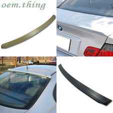3-SERIES BMW E46 SALOON A TYPE ROOF & TRUNK SPOILER WING ABS 316i 2005 *