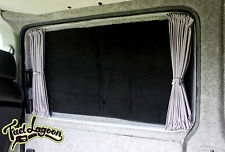 VW T5/T6 Silver Thermal Screen Side Door Window Foil Black Out Blind Deluxe