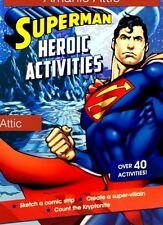 Superman Activity Book 48 Pages + Over 40 Activities Official Warner Bros Book